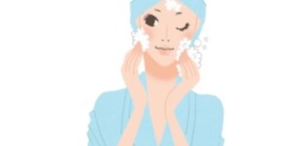 優しい洗顔で乾燥対策‼︎